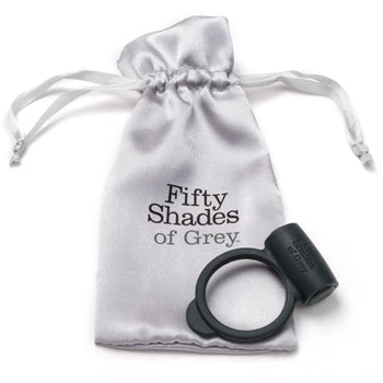 Fifty Shades of Grey Penis Ring Vibrerende Love Ring - funtoys.dk