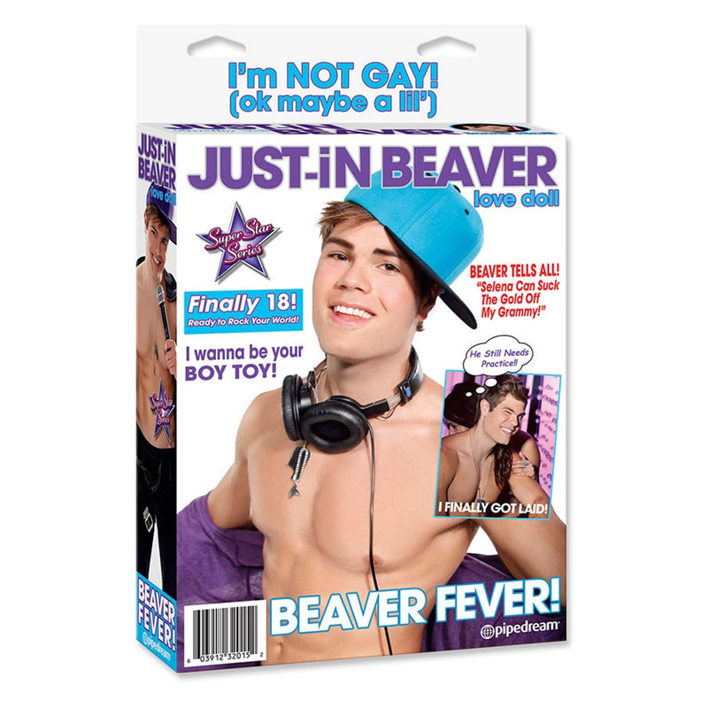 Just In Beaver Love Doll - funtoys.dk