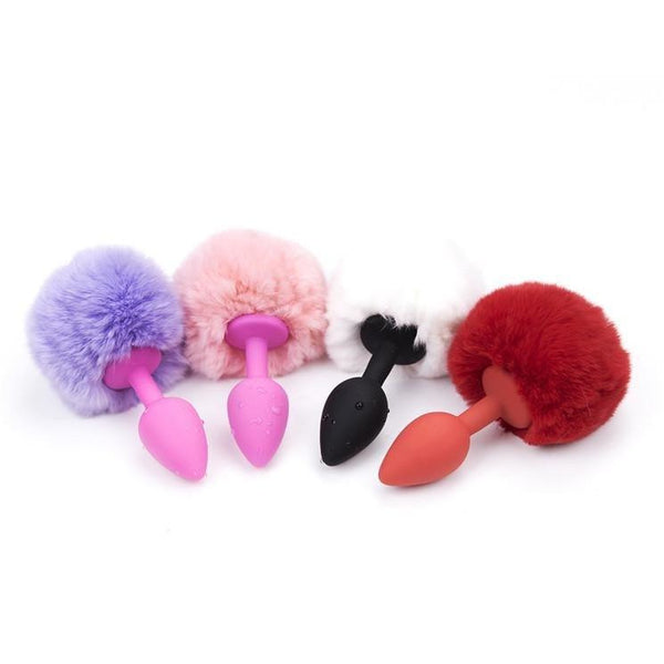 Buttplugs Rabbit Tail - funtoys.dk
