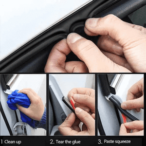 CAR DOOR SEAL STRIP (can be use for all car models)