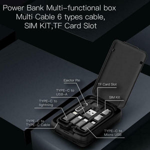Multi-functional Phone Storage box with Build-in 5000mah Powerbank