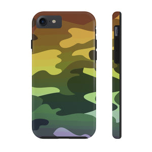 Camouflage Ombre Case Mate Tough Phone Case