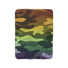 Load image into Gallery viewer, Camouflage Sherpa Fleece Blanket
