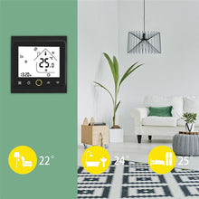 Load image into Gallery viewer, WiFi Smart Thermostat Temperature Controller for Water/Electric floor Heating Water/Gas Boiler Works with Alexa Google Home
