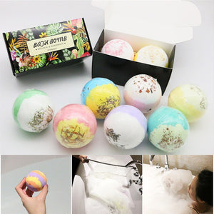 Bathing Bombs Explosion Ball Fizzy Spa Moisturizes Bubble Bath 2pcs/bag Wedding Home Festival Mother's Day Valentine 's Day