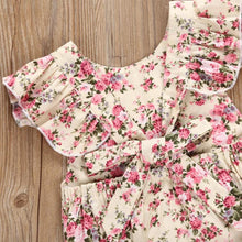 Load image into Gallery viewer, Newborn Infant Kids Baby Girls Floral Romper Jumpsuit Outfit Playsuit Clothes cotton fabric skin-friendly August 14