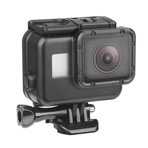 SHOOT 45m Underwater Waterproof Case for GoPro Hero 7 6 5 Black Diving Protective Cover Housing Mountable
