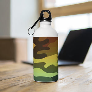 Camouflage Ombre Stainless Steel Water Bottle