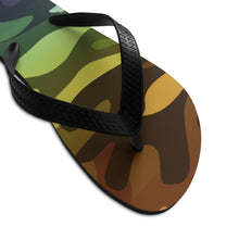 Load image into Gallery viewer, Camouflage Ombre Unisex Flip-Flops