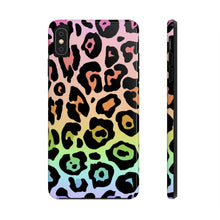 Load image into Gallery viewer, Rainbow Ombre Leopard Case Mate Tough Phone Case