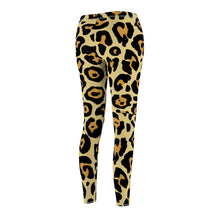 Load image into Gallery viewer, Leopard Women's Cut & Sew Casual Leggings