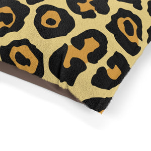 Leopard Custom Pet Bed