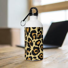 Load image into Gallery viewer, Leopard Printed Stainless Steel Water Bottle