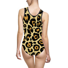 Load image into Gallery viewer, Leopard Women's Classic One-Piece Swimsuit