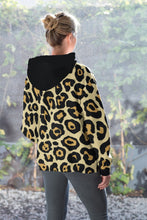 Load image into Gallery viewer, Leopard AOP Unisex Pullover Hoodie