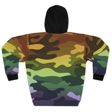 Load image into Gallery viewer, Ombre Camouflage AOP Unisex Pullover Hoodie
