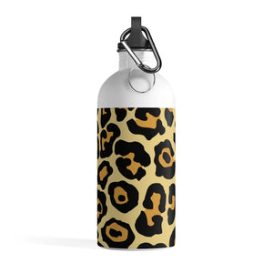 Leopard Printed Stainless Steel Water Bottle
