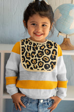Load image into Gallery viewer, 0-36 months Leopard Fleece Baby Bib, Animal Print Bib, Baby Gift, Fashionable Bib