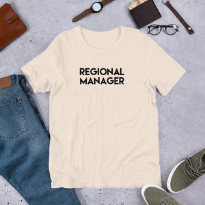 Regional Manager Shirt, Regional Manager Gift, Work Shirt, Work Gift, Co-Worker Gift, Regional Manager T-Shirt