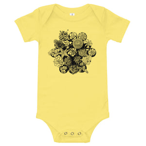 Succulent Arrangement Baby Onesie, Baby Shower Gift, New Mom, Plant Lover, Gift, Best Friend, 0-36 months Baby Clothing