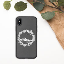 Load image into Gallery viewer, Wanderlust Biodegradable iPhone Case, Eco Friendly, Travel, Mountains, Nature Lover, Eco Friendly, Earth Conscious, Colorado, Botanical