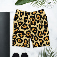 Load image into Gallery viewer, Leopard Yoga Shorts, Leopard Print, Animal Print, Shorts, Animal Lover, Everyday Comfy Shorts, Athletic, Athleisure, Shorts for Women