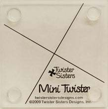 Load image into Gallery viewer, Mini,Midi og Lil' Twister fyrir bútasaum