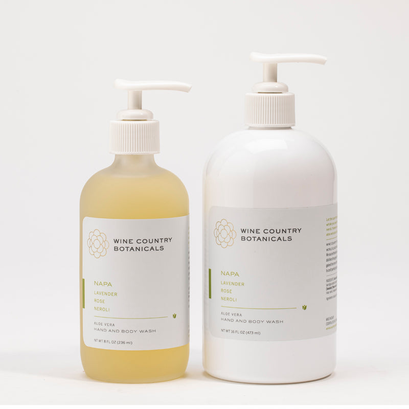 Glass Hand and Body Wash Refill Bundle