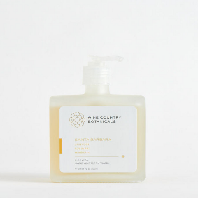 Glass Hand and Body Wash