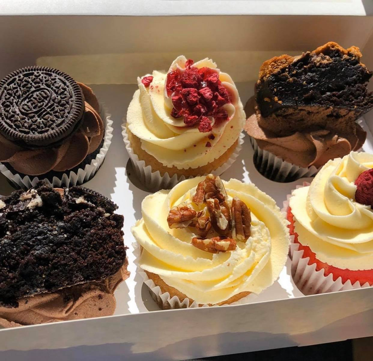 Cupcake Box (Worthing to Seaford delivery only)