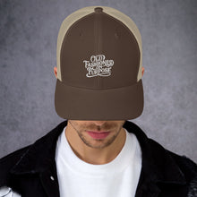Load image into Gallery viewer, Old-Fashioned on Purpose Trucker Cap