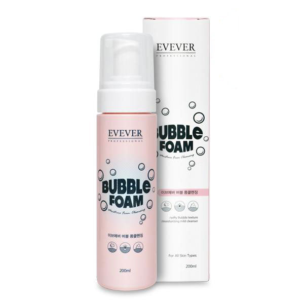 EVEVER BUBBLE FOAM CLEANSER 200ML
