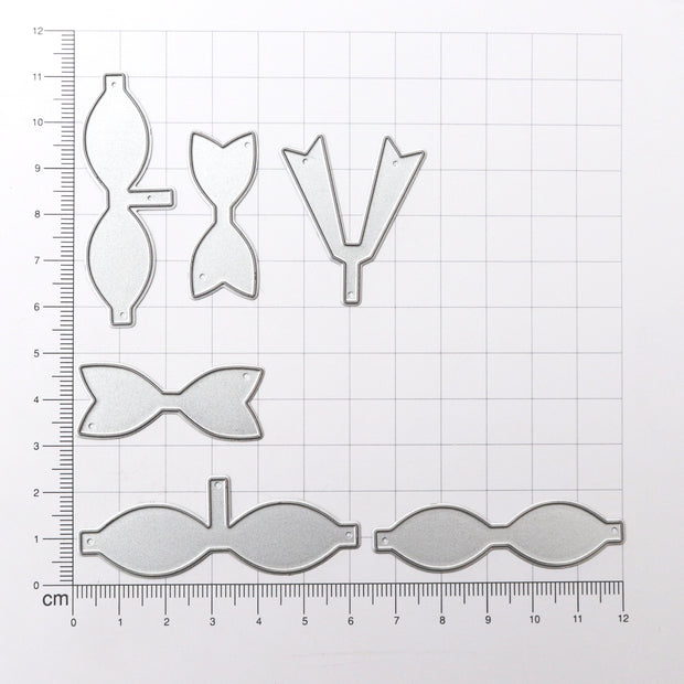 Thincut Metal Dies Set - Bow Collection, 6pc