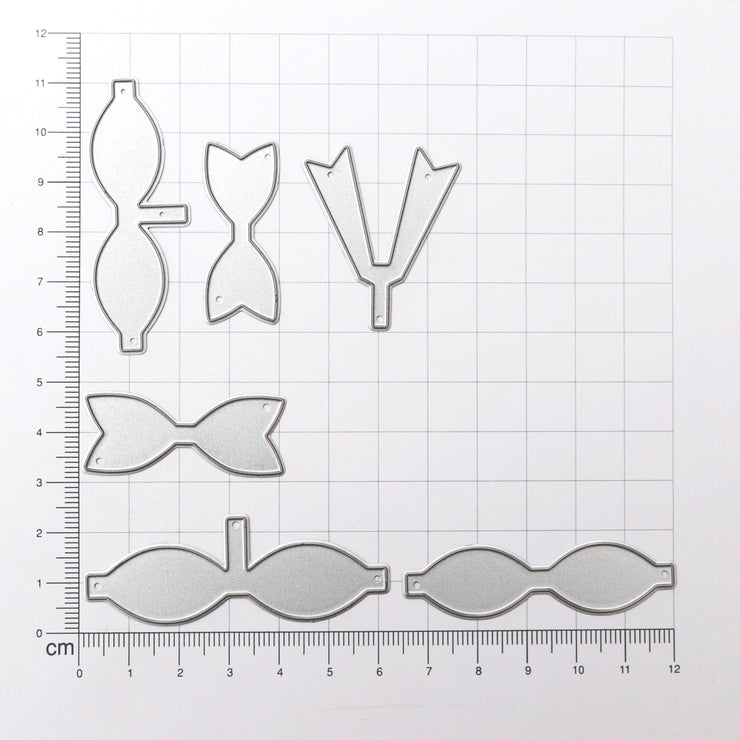 Thincut Dies - Bow Collection, 6pc