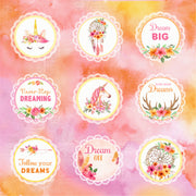 Boho Dreams Card Stock - 12X12 Inch