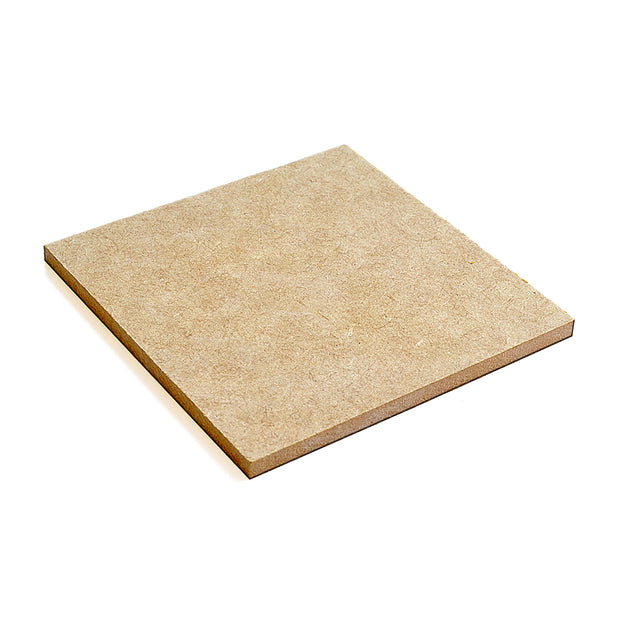 "MDF Wood Coaster 5mm Thickness - Square 4""X4"""