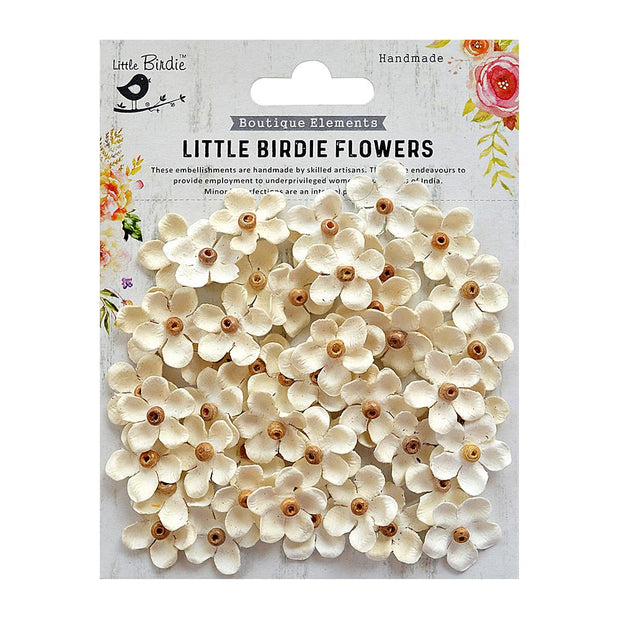 Beaded Blooms Moon Light 50Pc