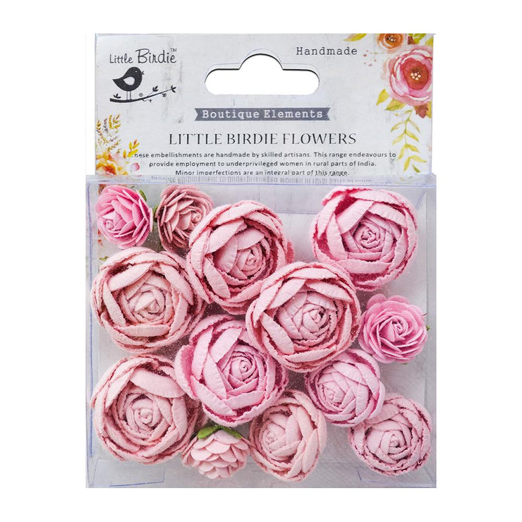 English Roses Pearl Pink 13Pc
