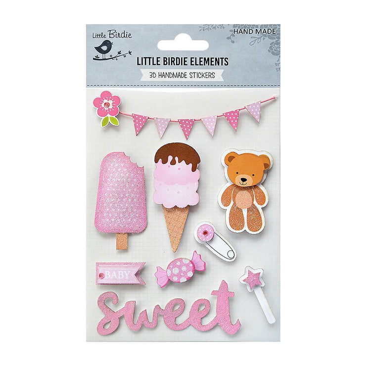 Sweet Baby Girl, 9Pc