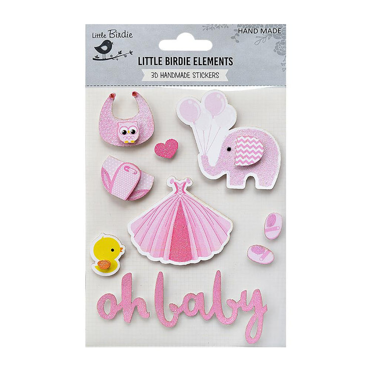 Oh Baby Girl Pink 10Pc
