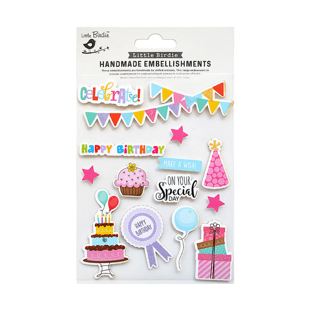 On Your Special Day Sticker Embellishment 14Pc