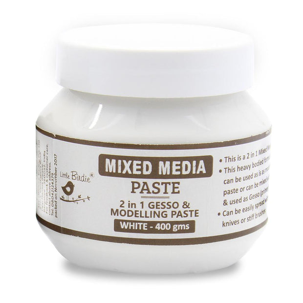 Mixed Media Paste White 400gms
