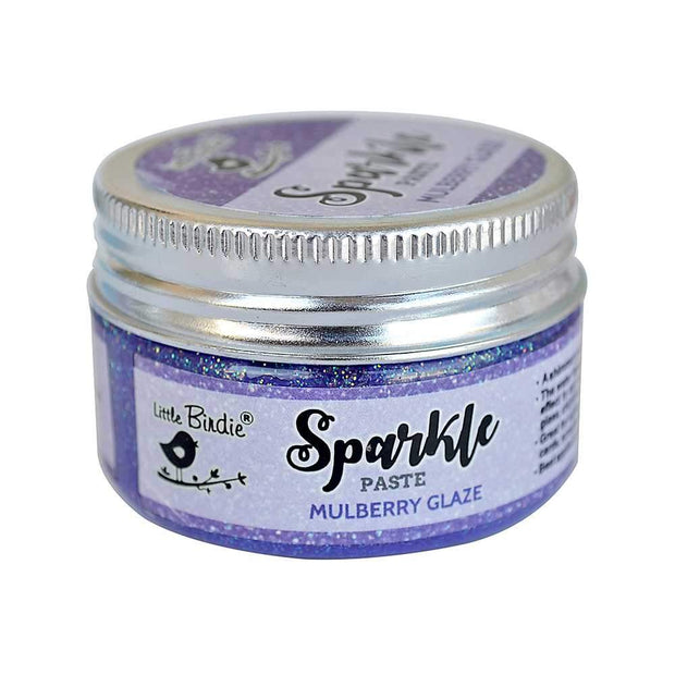 Sparkle Paste Mulberry Glaze 50gms