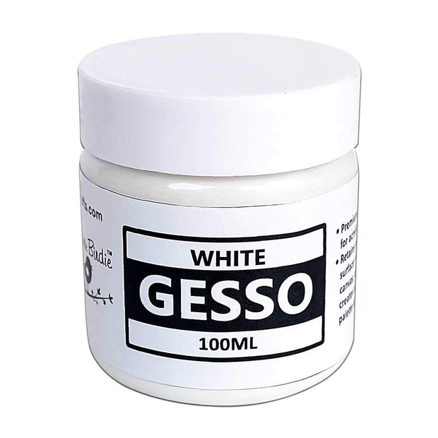 Acrylic Gesso- White, 100ml