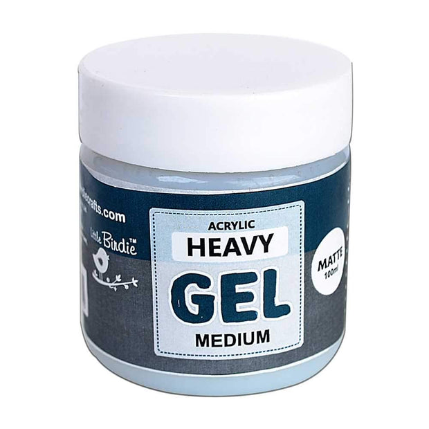 Acrylic Heavy Gel Medium - Matte 100ml