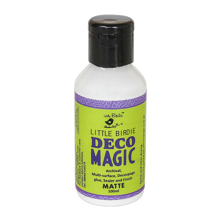 Deco Magic Decoupage Glue - Matte, 100ml