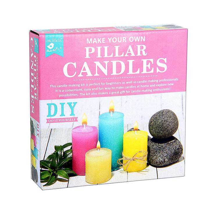 Make Your Own Pillar Candles Kit