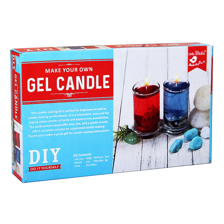 Make your Own Gel Candle DIY Kit