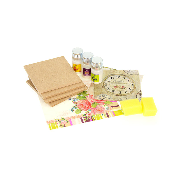 Decoupage Coaster Kit