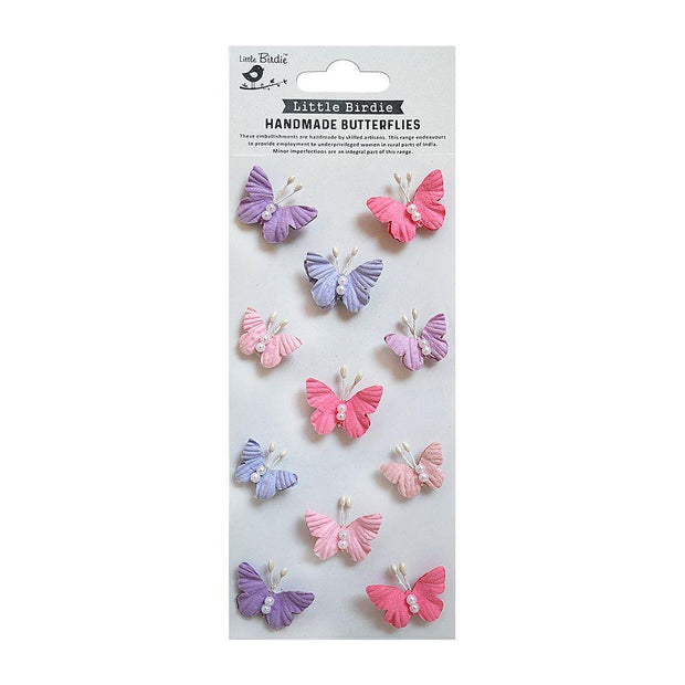 Pearl Butterflies Fairy Sparkle 11pc